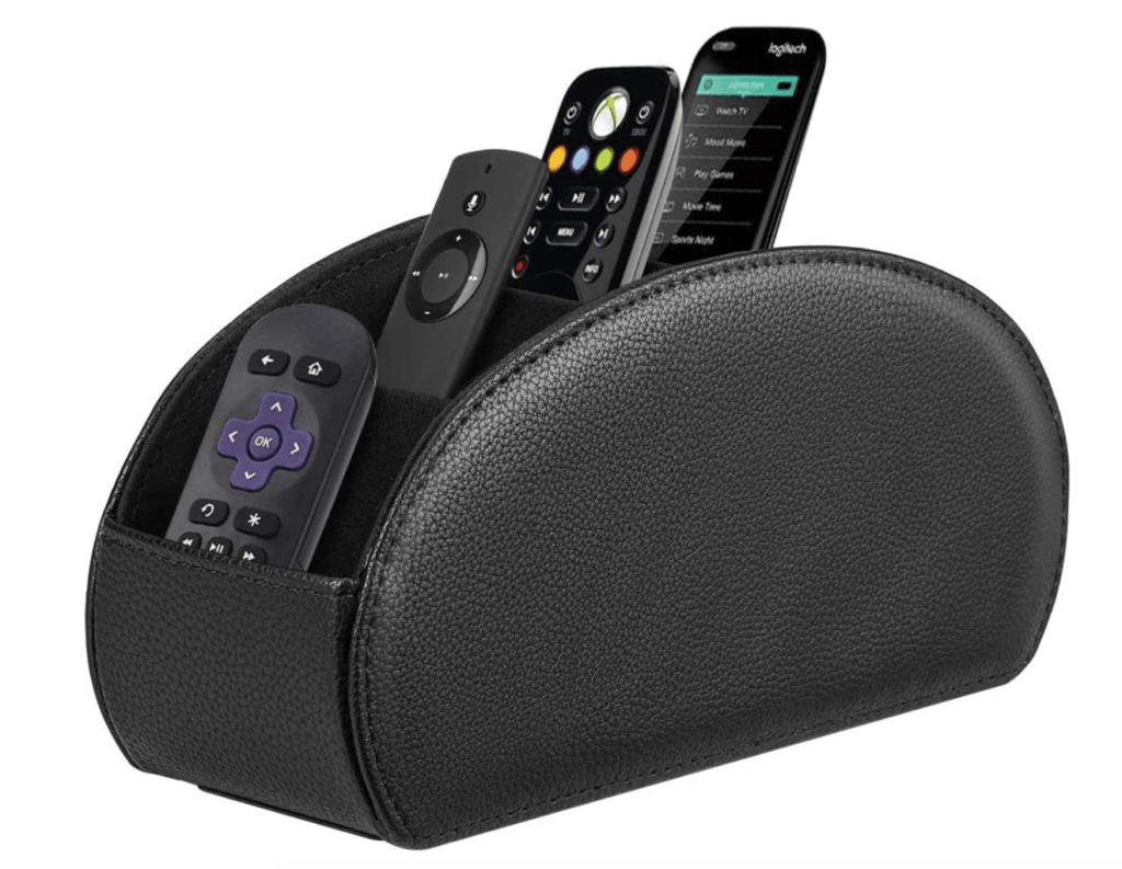 remote holder for Fire TV remote or Apple TV remote