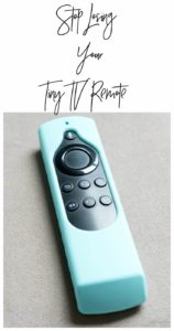 Stop losing your tiny remote