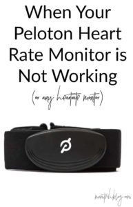 When Your Heart Rate Monitor is Not Working