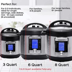 Is the 8 Quart Instant Pot too Big?