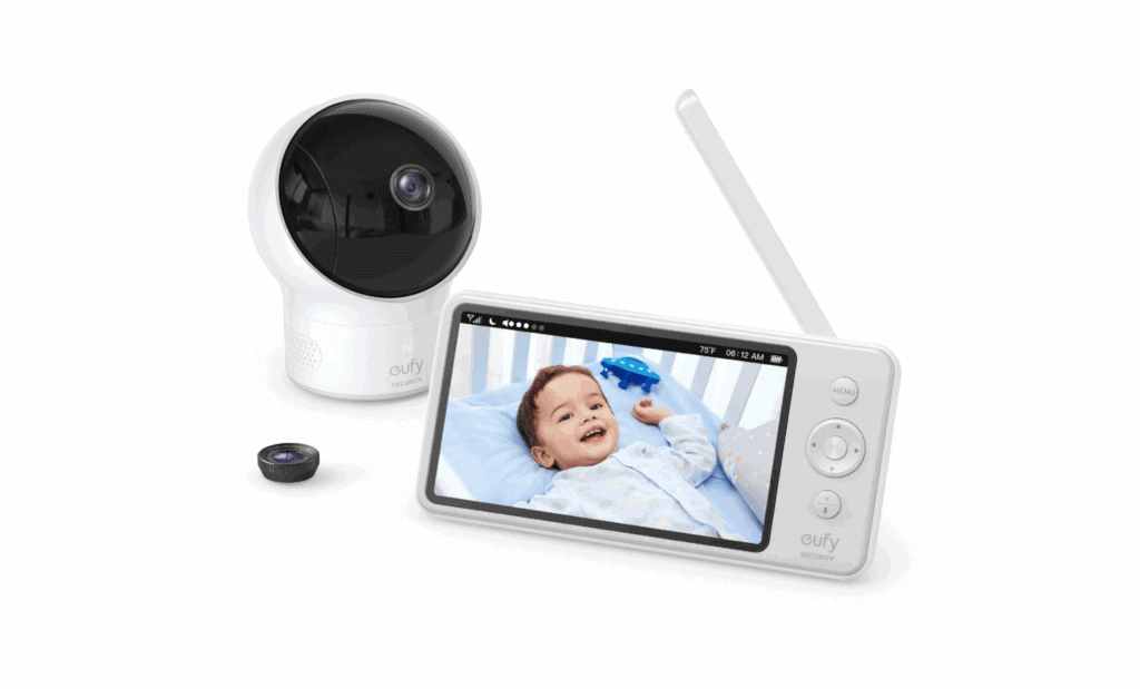 Eufy SpaceView Baby Monitor - HD Secure Baby Monitor Review!