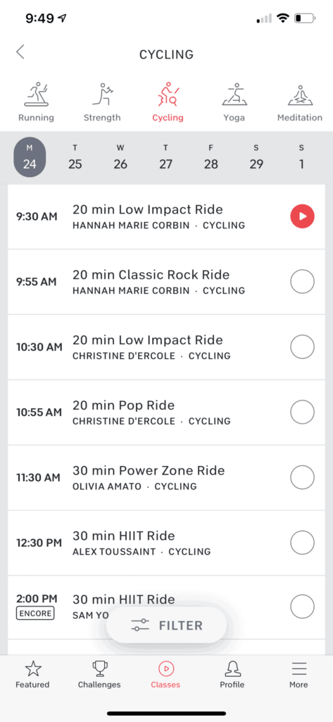 Peloton Digital App Without a Bike