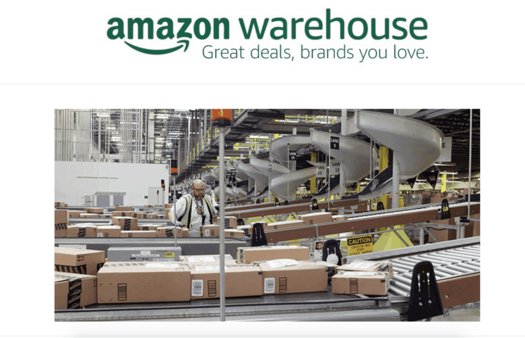 Amazon Warehouse deals and used like new