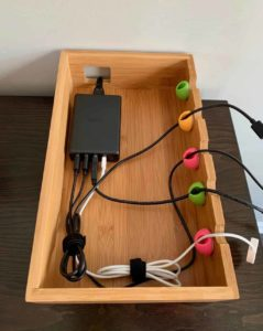 Tablet Organizer Stand With Charging