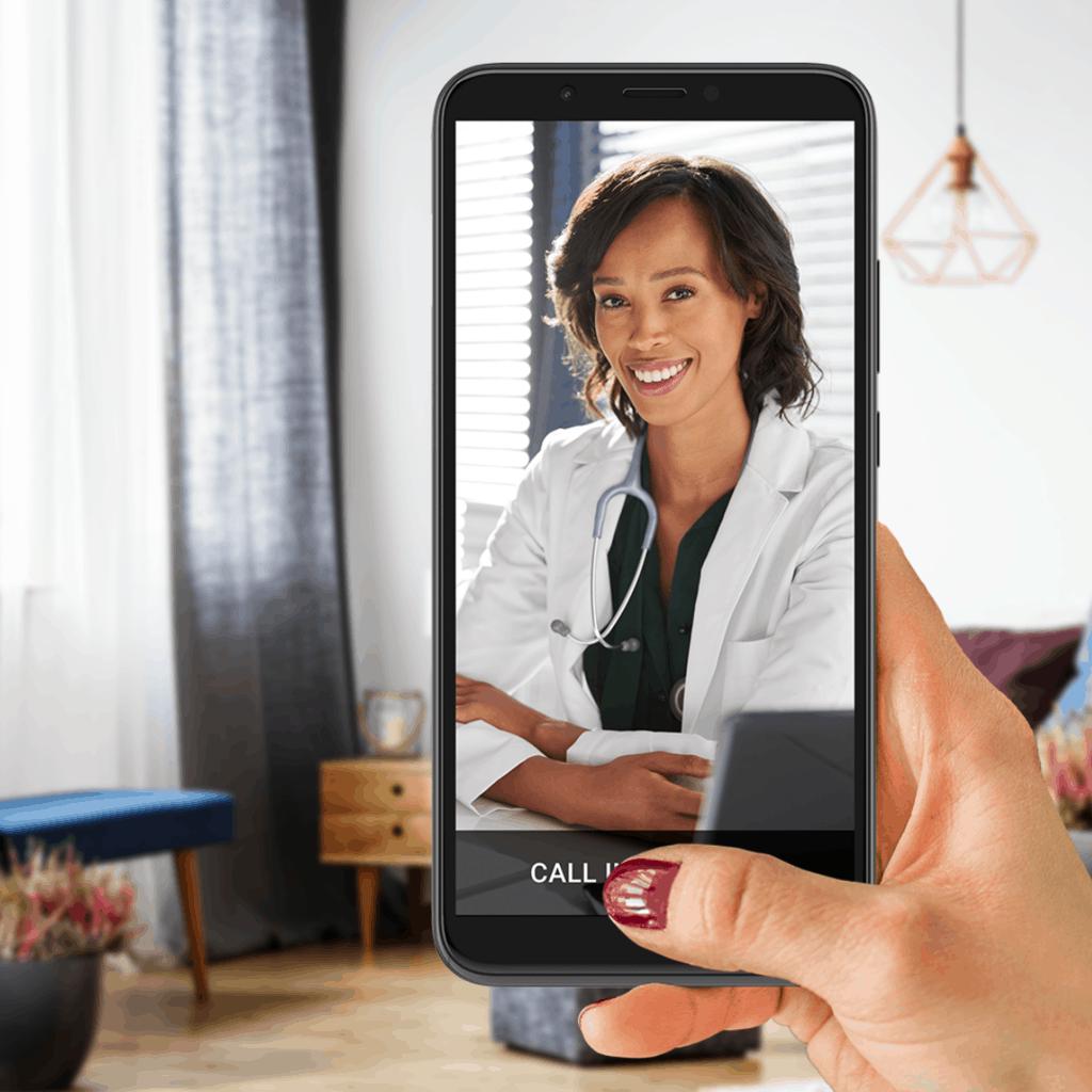 Telemedicine and telehealth app