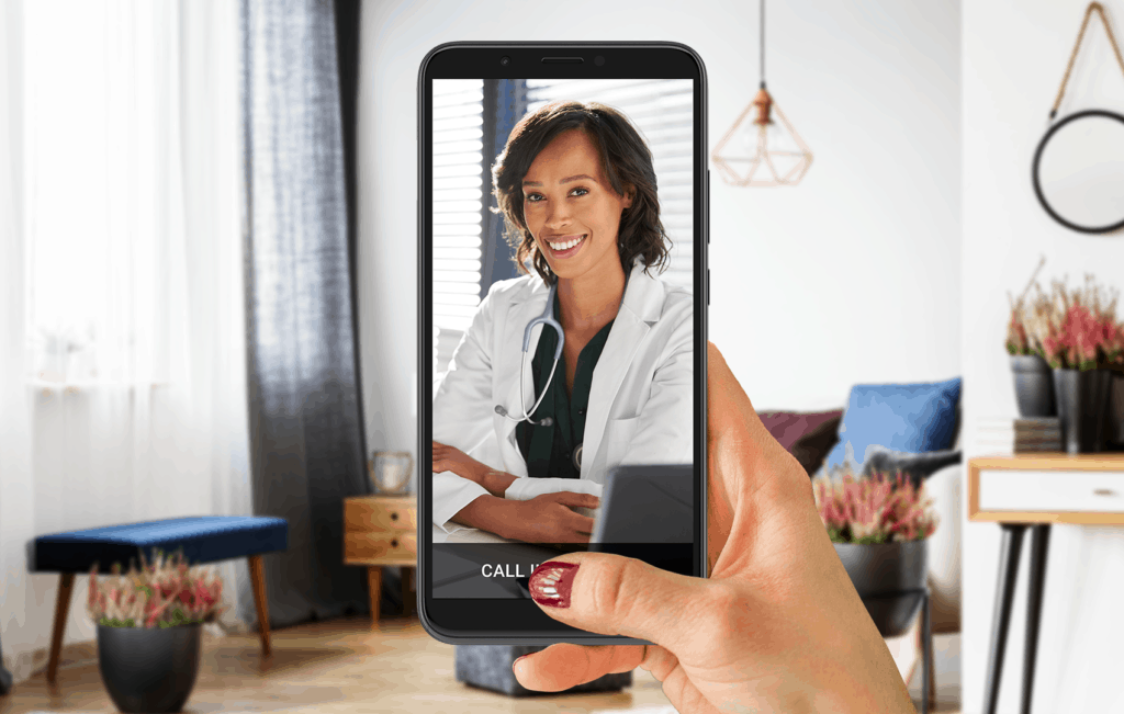 telemedicine and telehealth app with online doctor visit