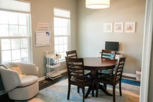 virtual learning space at home