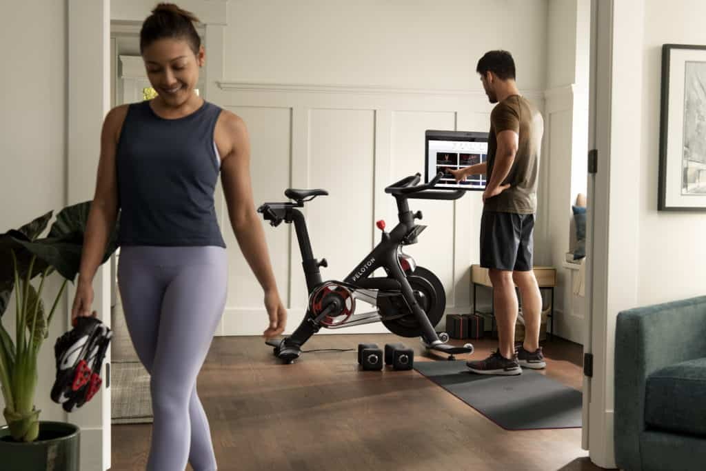 Peloton bike+ great for postpartum moms