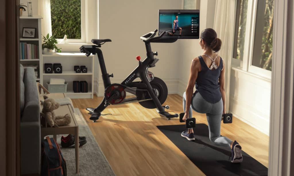 Using Peloton for postpartum weight loss