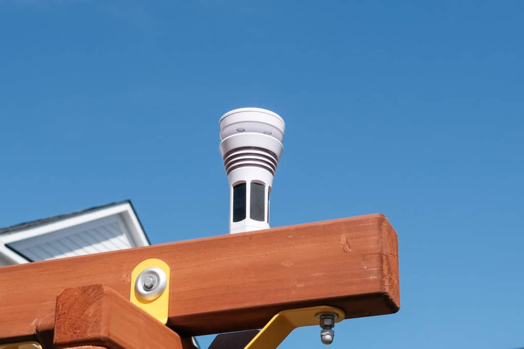 Tempest weather station