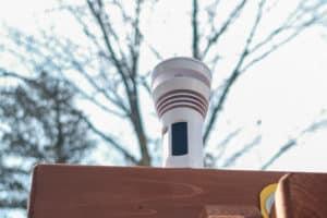 Mounting weather station, kids stem activity