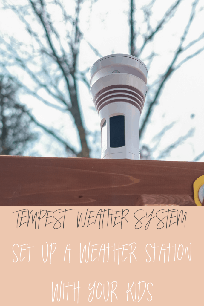 Kids stem activity set up a weather station with your kids
