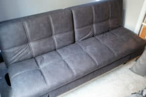 Sleeper sofa in a box review